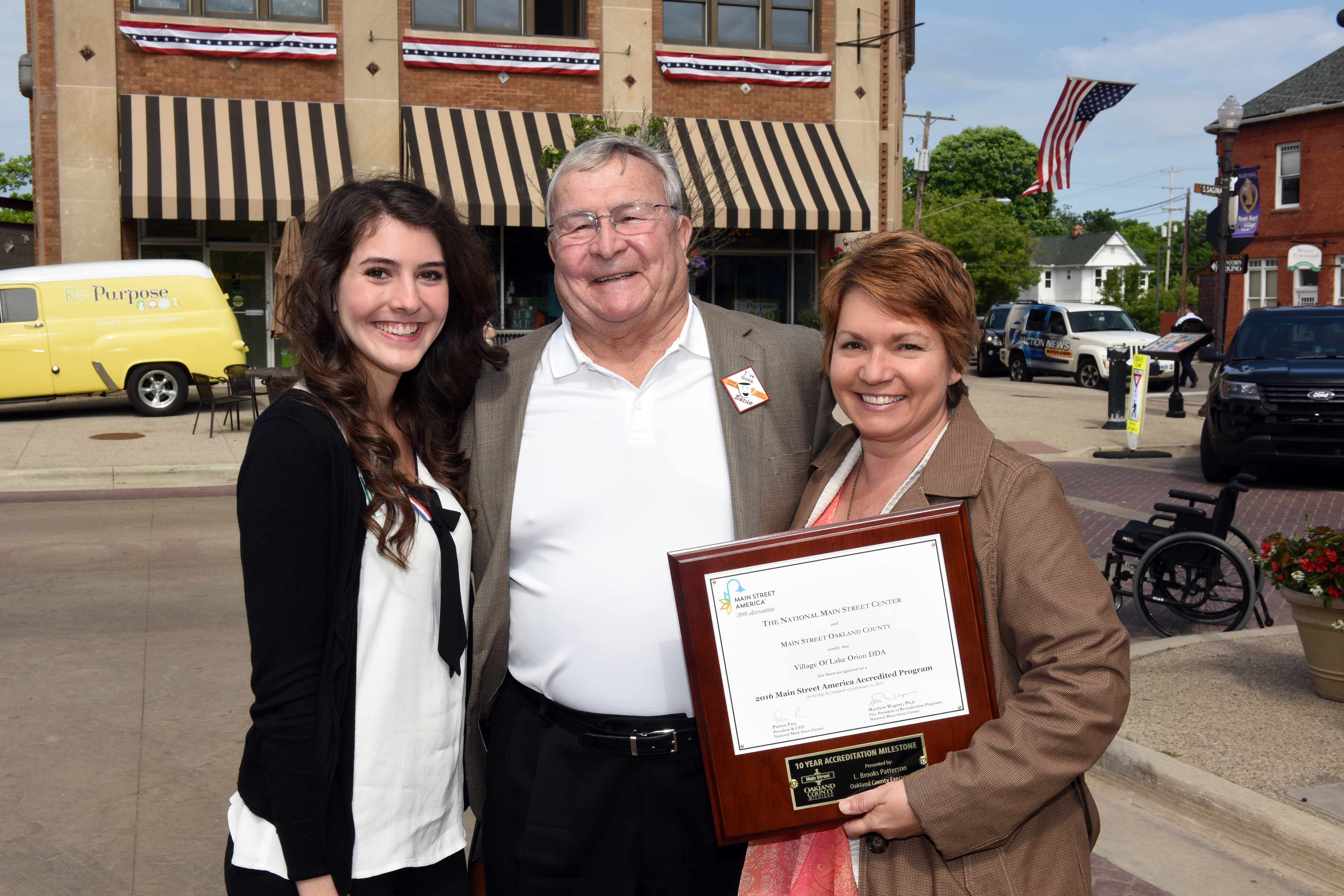 2016 National Main Street Accreditation – downtownlakeorion org